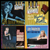 Jan Preston 4 CD Collection